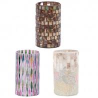 ルミエール ガラスホルダー モザイクガラス 花瓶